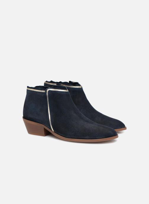 Bottines et boots Anonymous Copenhagen Bella Bleu vue 3/4