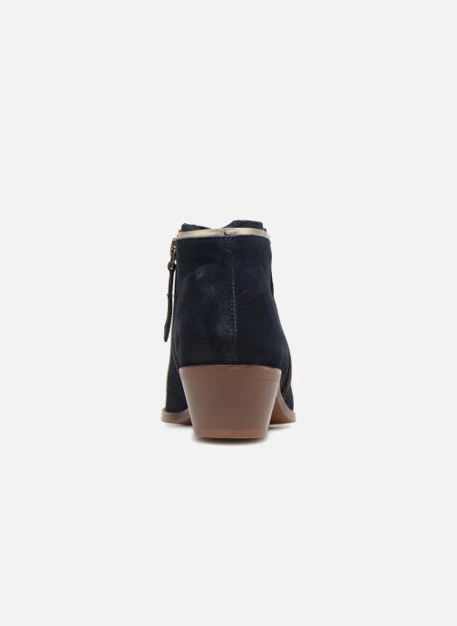 Bottines et boots Anonymous Copenhagen Bella Bleu vue droite