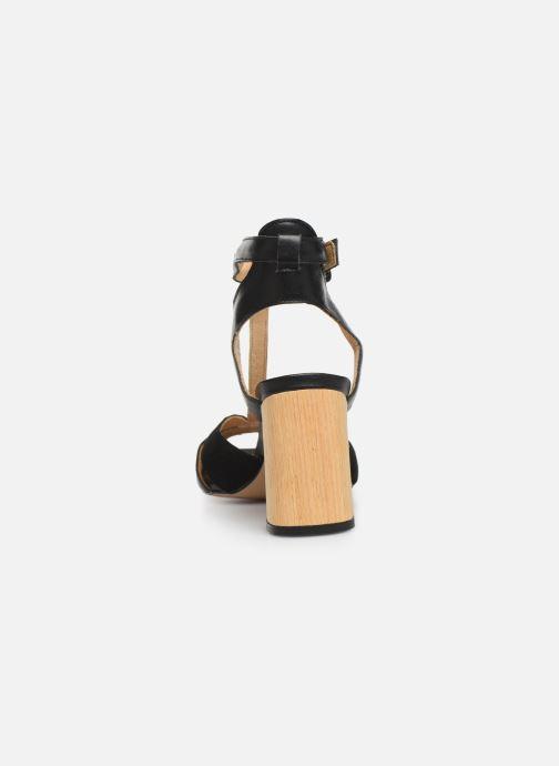 Sandales et nu-pieds Anonymous Copenhagen Abierta Noir vue droite