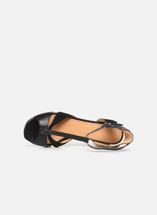 Sandales et nu-pieds Anonymous Copenhagen Abierta Noir vue gauche