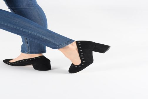 High heels Anonymous Copenhagen Stella Black view from underneath / model view
