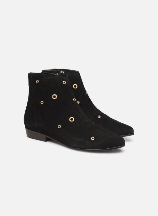 Bottines et boots Anonymous Copenhagen Talisha Noir vue 3/4