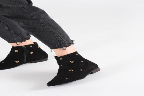 Bottines et boots Anonymous Copenhagen Talisha Noir vue bas / vue portée sac