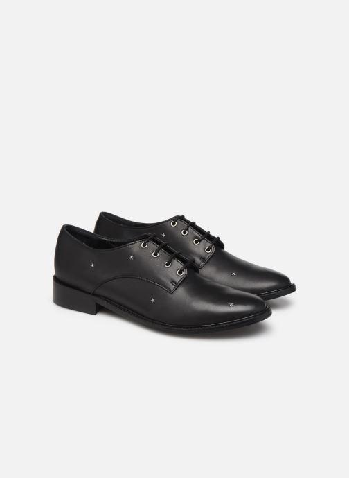 Zapatos con cordones Anonymous Copenhagen Utastars Negro vista 3/4