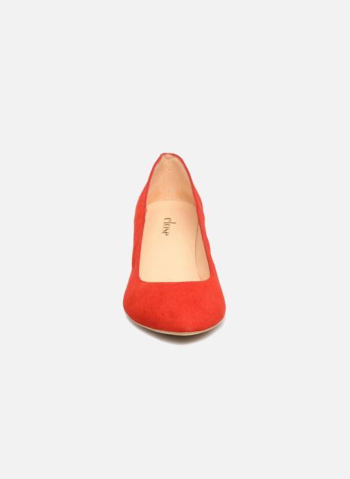 Escarpins Close LOUISE Rouge vue portées chaussures