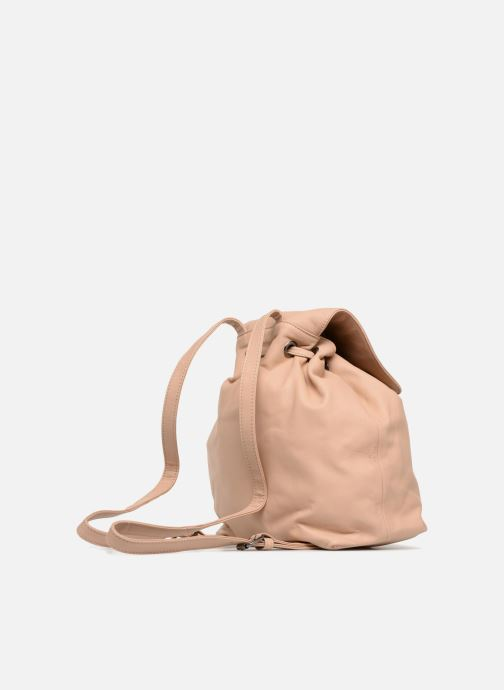 Mochilas Close KATE Beige vista lateral derecha