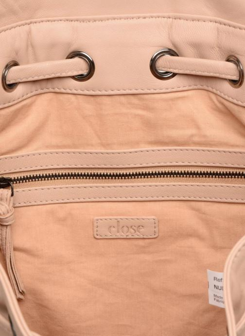 Mochilas Close KATE Beige vistra trasera