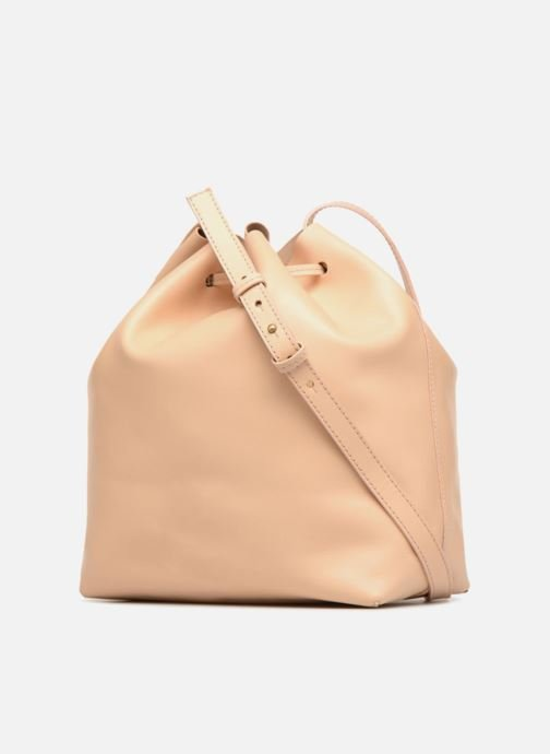Bolsos de mano Close SAC SEAU Beige vista lateral derecha