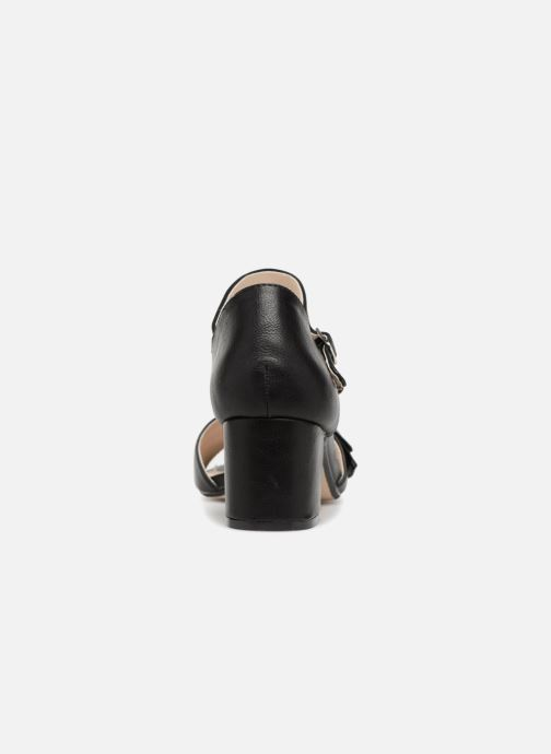 Sandales et nu-pieds Xti 30700 Noir vue droite