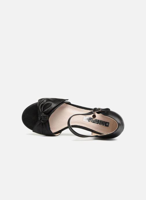 Sandales et nu-pieds Xti 30700 Noir vue gauche