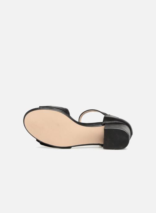 Sandales et nu-pieds Xti 30700 Noir vue haut
