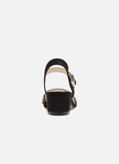 Sandales et nu-pieds Xti 30709 Noir vue droite