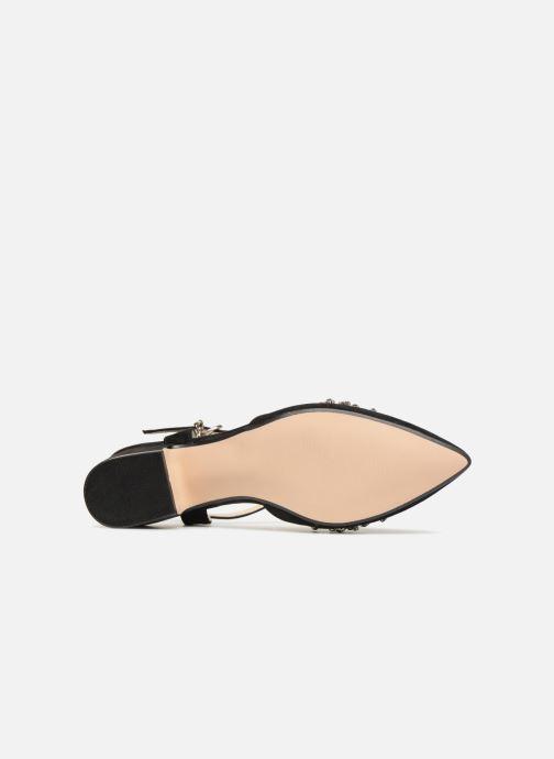 Sandales et nu-pieds Xti 30709 Noir vue haut