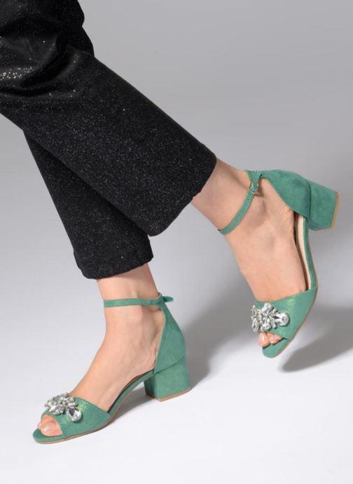 Sandalen Xti 30756 grün ansicht von unten / tasche getragen