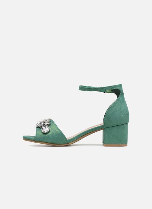 Sandalen Xti 30756 grün ansicht von vorne