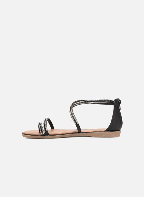 Sandales et nu-pieds Xti 46630 Noir vue face