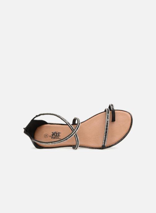 Sandales et nu-pieds Xti 46630 Noir vue gauche