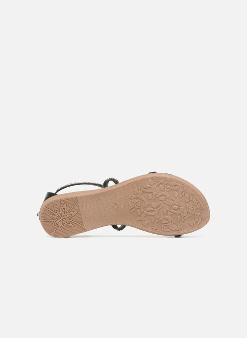 Sandales et nu-pieds Xti 46630 Noir vue haut