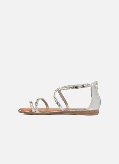 Sandales et nu-pieds Xti 46630 Argent vue face