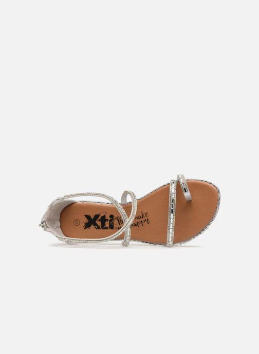 Sandales et nu-pieds Xti 46630 Argent vue gauche