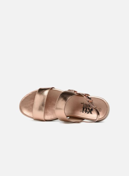 Sandales et nu-pieds Xti 47661 Rose vue gauche