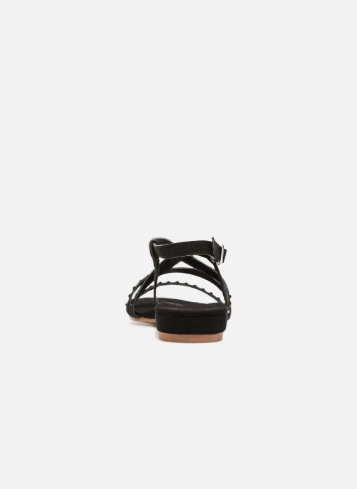 Sandales et nu-pieds Xti 47741 Noir vue droite