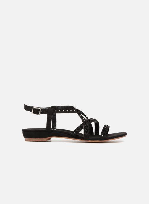 Sandales et nu-pieds Xti 47741 Noir vue derrière