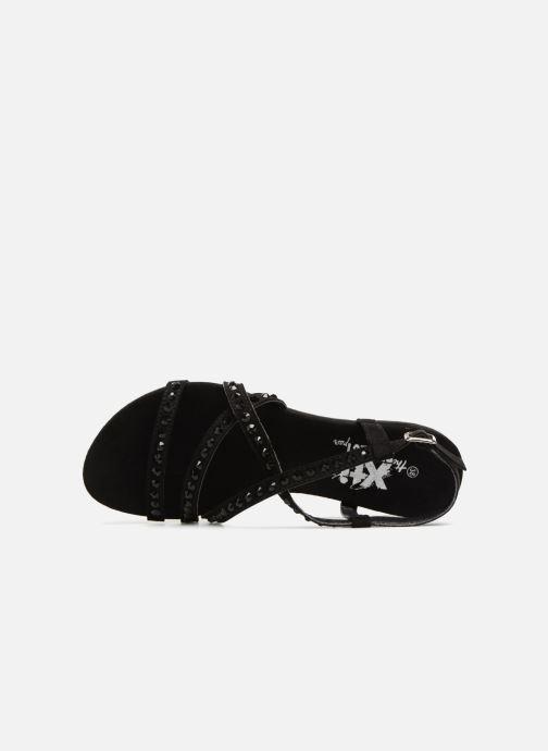 Sandales et nu-pieds Xti 47741 Noir vue gauche