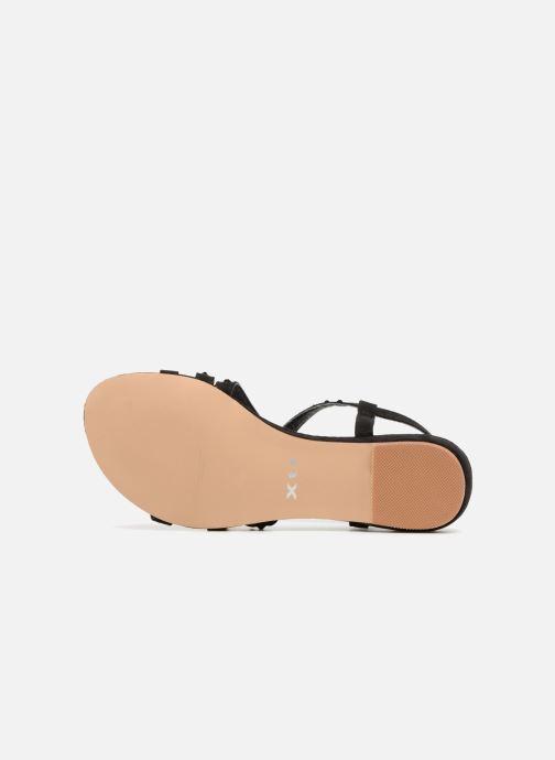 Sandales et nu-pieds Xti 47741 Noir vue haut