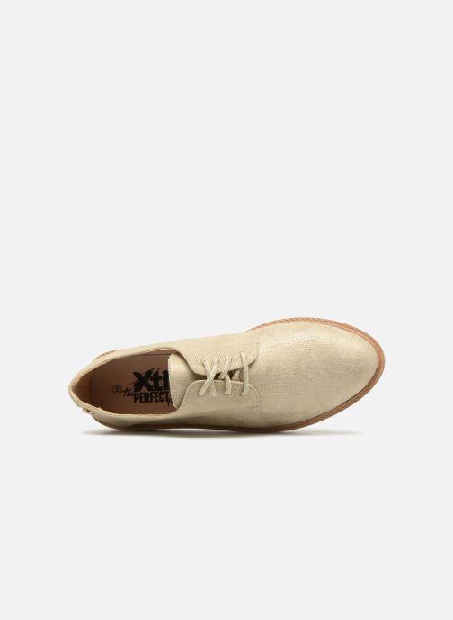 Chaussures à lacets Xti 47771 Beige vue gauche