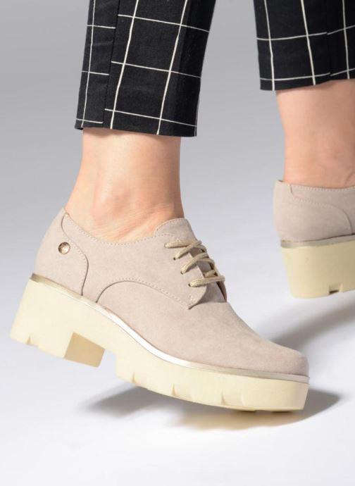 Chaussures à lacets Xti 47794 Beige vue bas / vue portée sac