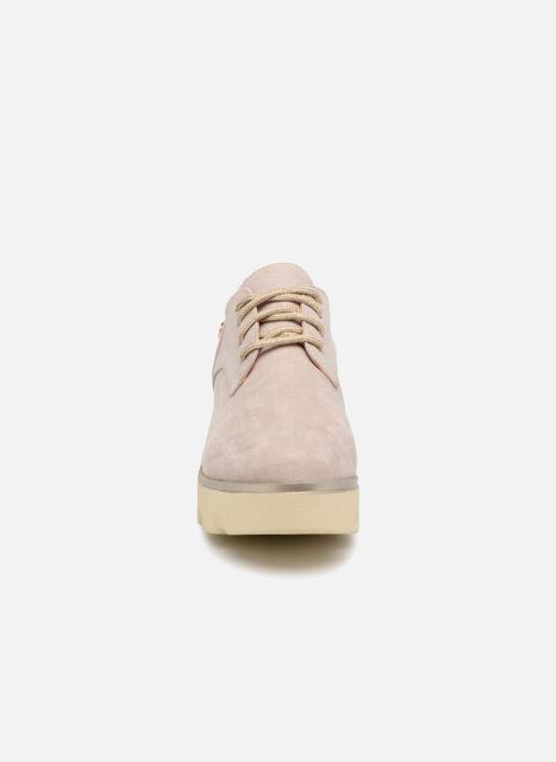 Zapatos con cordones Xti 47794 Beige vista del modelo