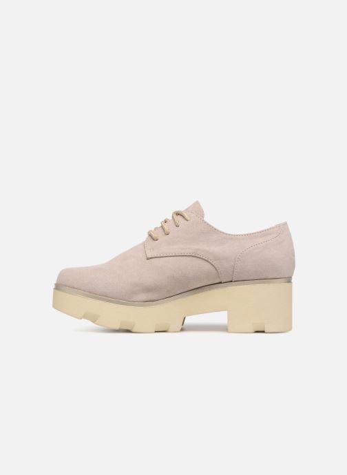 Zapatos con cordones Xti 47794 Beige vista de frente