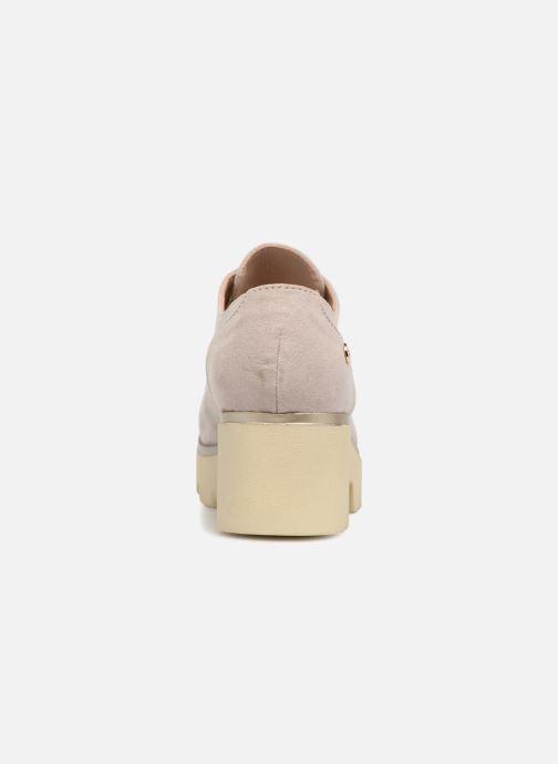 Zapatos con cordones Xti 47794 Beige vista lateral derecha
