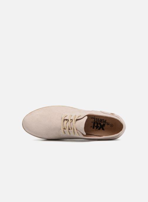 Zapatos con cordones Xti 47794 Beige vista lateral izquierda