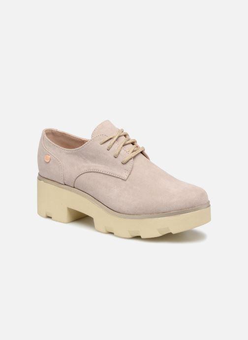 Zapatos con cordones Xti 47794 Beige vista de detalle / par