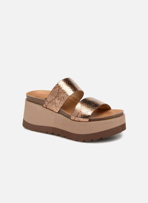 Xti Xti Xti 48060 (Gold bronze) - Clogs & Pantoletten bei Más cómodo 994b5e