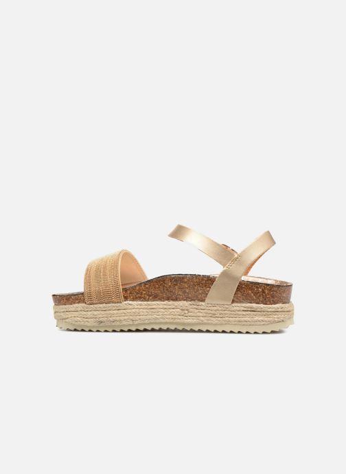 Sandales et nu-pieds Xti 48073 Or et bronze vue face