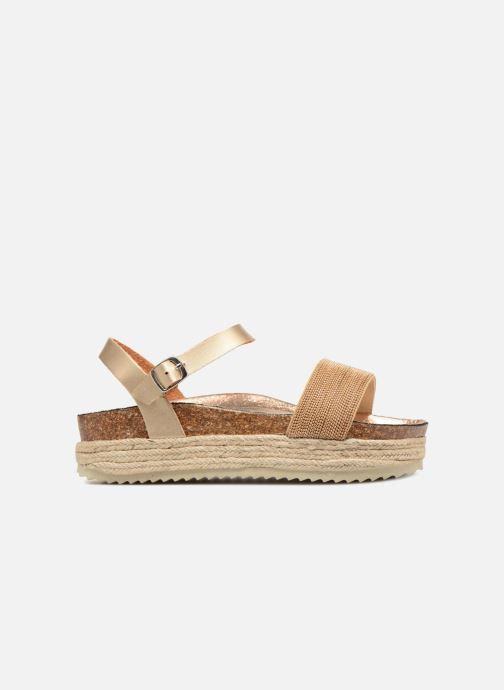 Sandales et nu-pieds Xti 48073 Or et bronze vue derrière