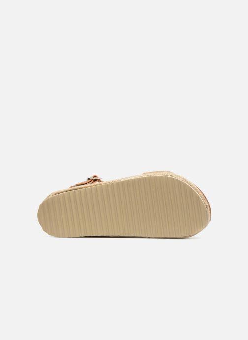Sandales et nu-pieds Xti 48073 Or et bronze vue haut