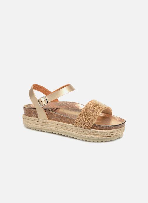 Sandales et nu-pieds Xti 48073 Or et bronze vue détail/paire