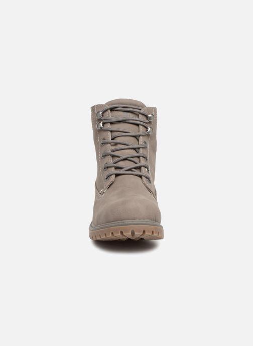 Bottines et boots Tom Tailor Alba Gris vue portées chaussures