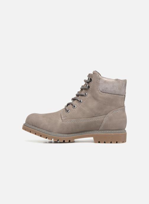 Bottines et boots Tom Tailor Alba Gris vue face