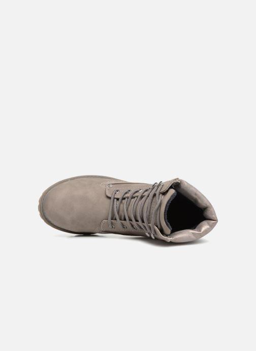 Bottines et boots Tom Tailor Alba Gris vue gauche
