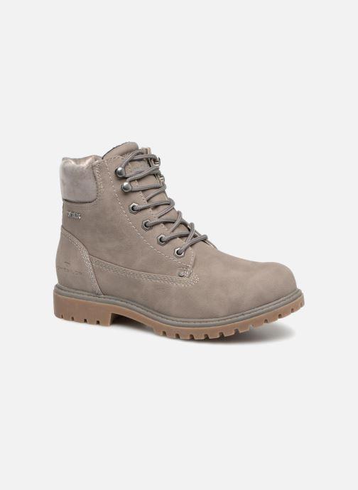 Bottines et boots Tom Tailor Alba Gris vue détail/paire