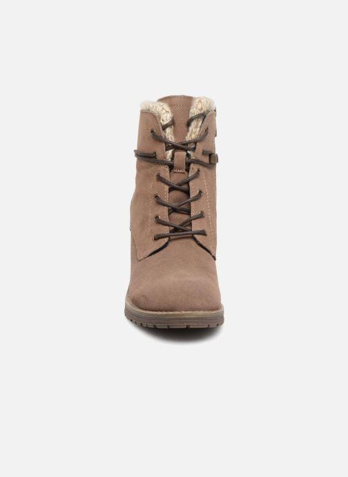 Boots en enkellaarsjes Tom Tailor Marta Beige model