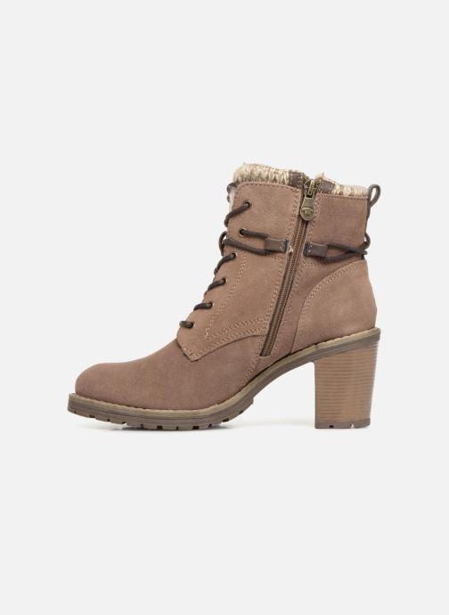 Boots en enkellaarsjes Tom Tailor Marta Beige voorkant