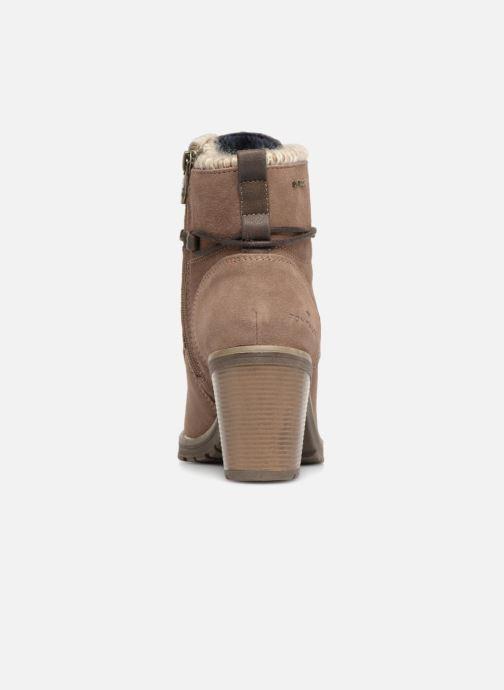 Boots en enkellaarsjes Tom Tailor Marta Beige rechts