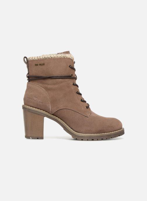 Boots en enkellaarsjes Tom Tailor Marta Beige achterkant