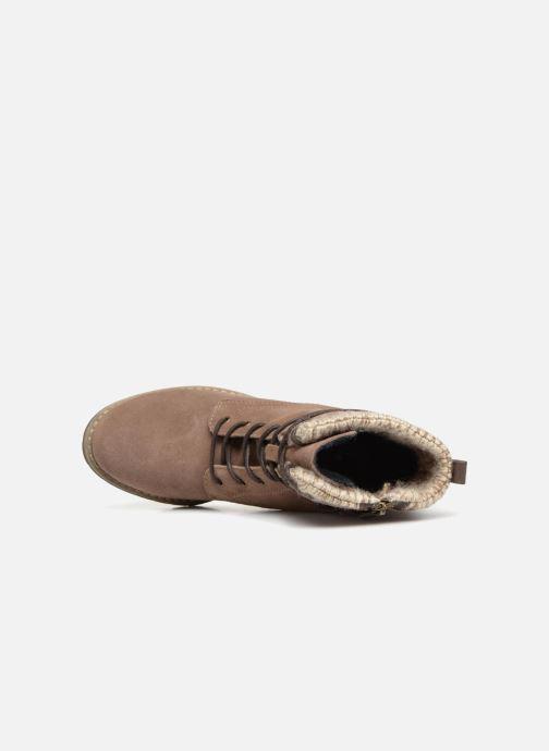 Boots en enkellaarsjes Tom Tailor Marta Beige links